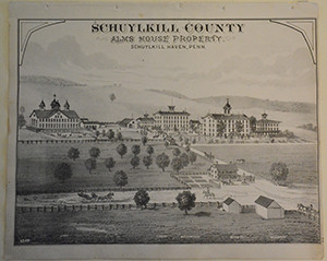 Historical campus map