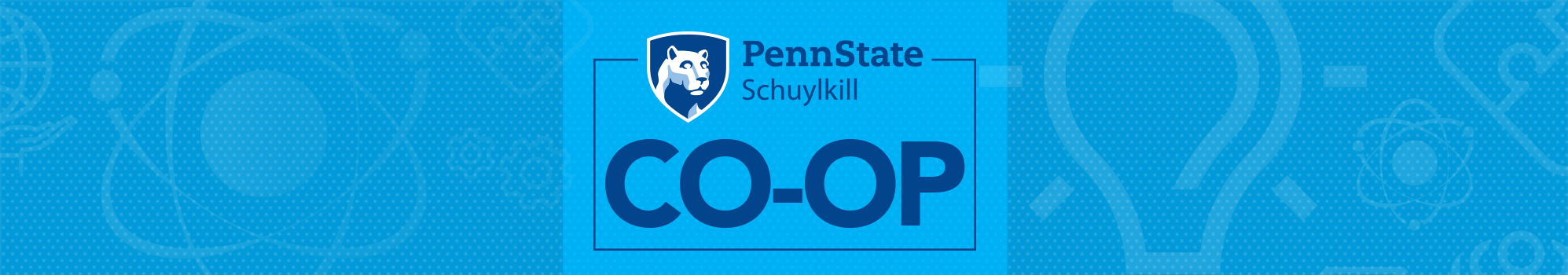 Penn State Schuylkill Co-Op logo and graphic
