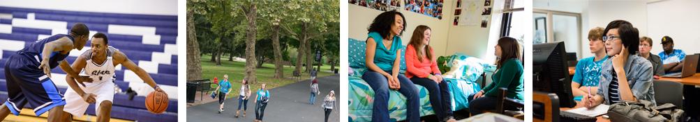 Students at Schuylkill campus