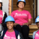 Penn State Schuylkill students and staff at Habitat for Humanity Women's Build