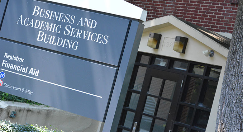B Building sign