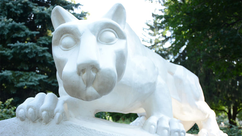 Penn State Schuylkill's lion shrine