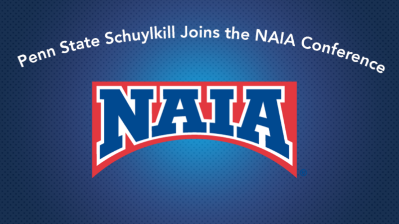 Penn State Schuylkill joins the National Association of Intercollegiate Athletics Conference effective July 1, 2018.