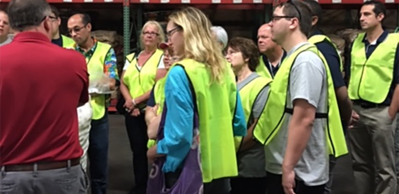 Food Service employees at Masser's Potato Farm