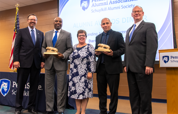 2019 Outstanding Alumni award recipients