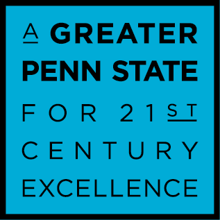 Greater Penn State for 21st Century Excellence campaign logo