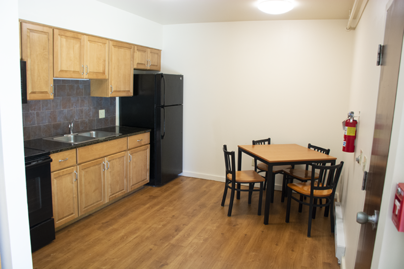 Kitchen in Nittany I Apartments