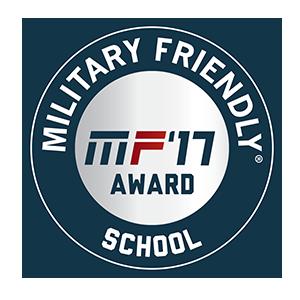 2017 Military Friendly School logo