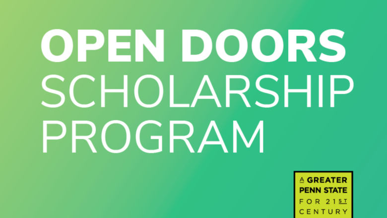 Open Doors Scholarship logo