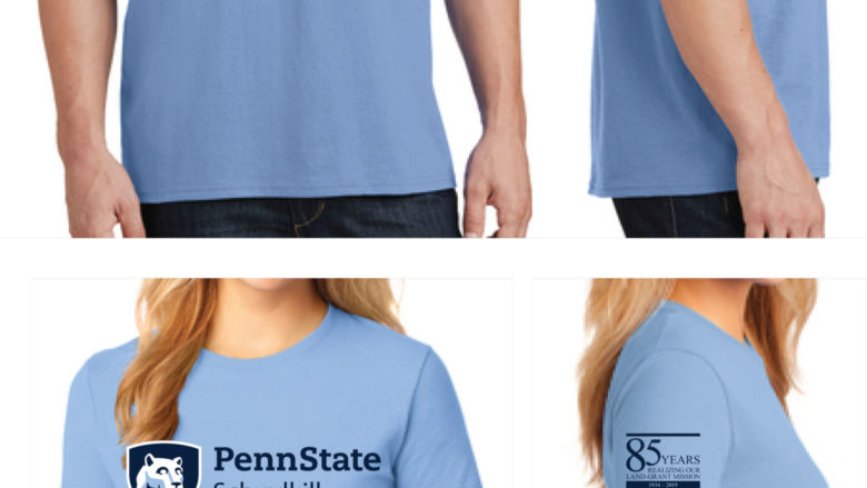85th Anniversary t-shirt mock up