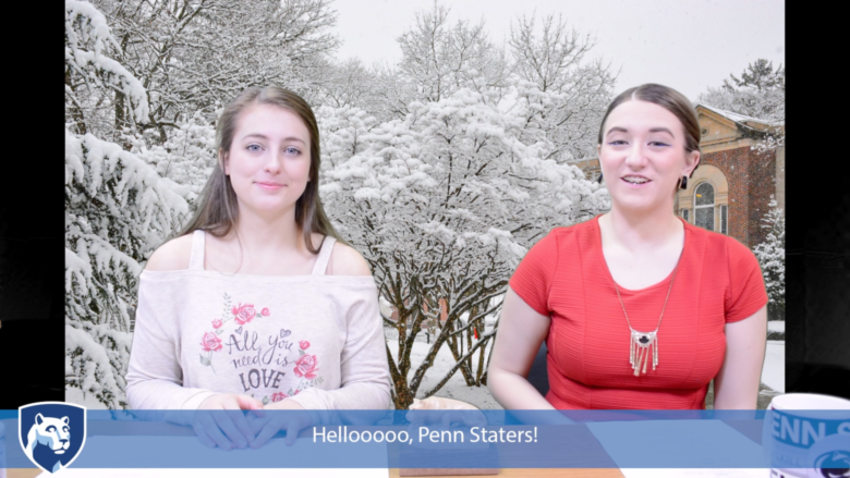 Students Kaila and Amanda share news and events on the Schuylkill campus for the week of February 5