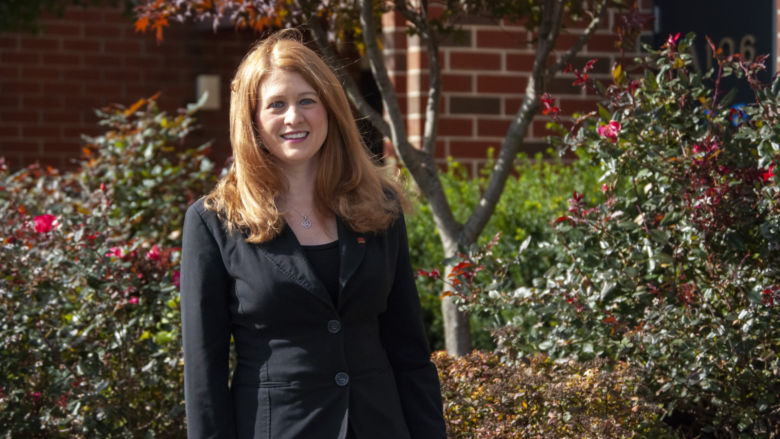 Valerie Schrader, associate professor of communication arts and sciences.
