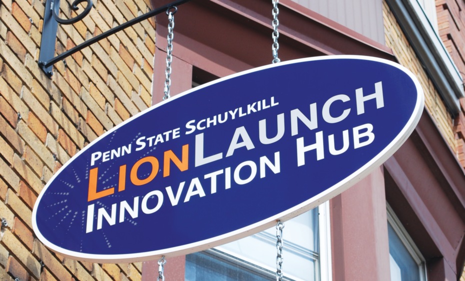 The Penn State Schuylkill LionLaunch Innovation Hub